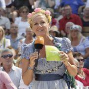 Letzte Folge! Andrea Kiewel mit zünftiger Oktoberfest-Gaudi zum Abschied (Foto)