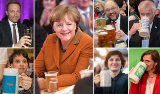 Am Tag der Bundestagswahl sind die Spitzenkandidaten noch einmal gefordert. (Foto)