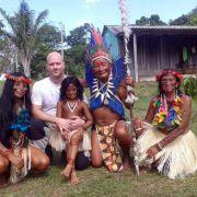 """So lebt der """"Goodbye Deutschland""""-Star bei den Amazonas-Indianern! (Foto)"""