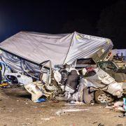 3 Tote nach Unfall mit Geisterfahrer-LKW (Foto)