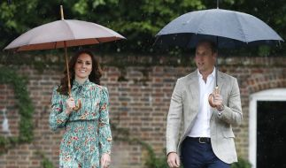 Kate Middleton mit Ehemann Prinz William. (Foto)