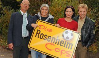 """Die """"Rosenheim Cops"""" bekommen in der 17. Staffel Zuwachs von Patrick Kalupa. (Foto)"""