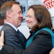 """""""Ab morgen in die Fresse"""" - Andrea Nahles sagt CDU/CSU den Kampf an (Foto)"""