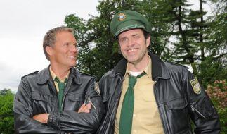"""Christian Tramitz (l) und Helfried von Lüttichau als """"Hubert und Staller"""". (Foto)"""