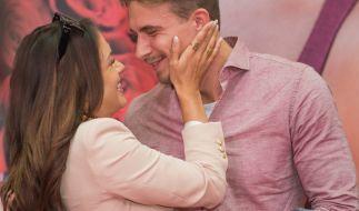 Ein Bild aus glücklichen Tagen: Jessica Paszka und David Friedrich. (Foto)