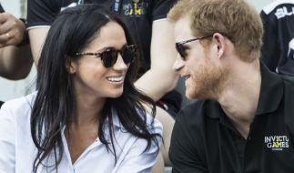 Meghan Markle und Prinz Harry ganz verliebt bei den Invictus Games. (Foto)