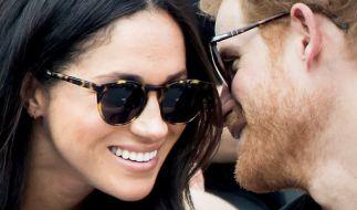 Prinz Harry und seine Freundin Meghan Markle zeigen sich öffentlich. (Foto)