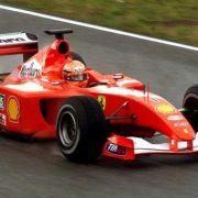 Mit dem Ferrari F2001 wurde Schumi Weltmeister.