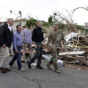 Peinlich! Unwissender US-Präsident verspottet Hurrikan-Opfer (Foto)