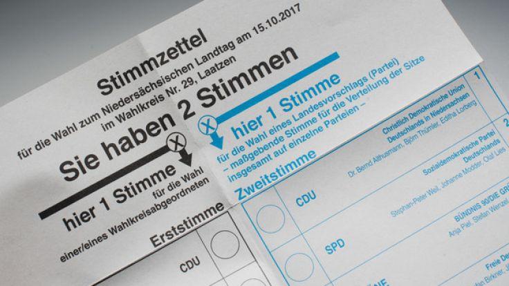 Am 15. Oktober 2017 wählt Niedersachsen einen neuen Landtag. (Foto)