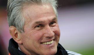 Jupp Heynckes wird zumindest bis Saisonende auf der Trainerbank des FC Bayern München sitzen. (Foto)