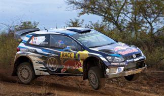 Sebastien Ogier aus Frankreichfuhr 2016 noch mit seinem Volkswagen Polo bei der Rallye-WM in Spanien mit. (Foto)
