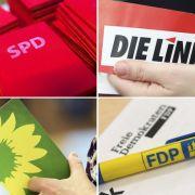 Volksparteien laufen die Wähler weg (Foto)