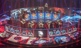 "Bei ""League of Legends"" treten die Spieler in Teams gegeinander an. (Foto)"