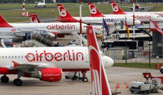 Air Berlin wird zum 28. Oktober den Flugbetrieb einstellen. (Foto)