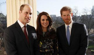Prinz Harry ist auch beim dritten Kind von Kate Middleton nicht als Patenonkel eingeplant. (Foto)