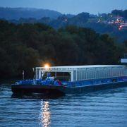 Atommüll auf dem Neckar unterwegs - So gefährlich ist der Transport! (Foto)