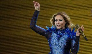 Momentan steht Helene Fischer fast jeden Abend auf der Bühne. (Foto)