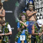 In Rekordzeit! Lange gewinnt Ironman-WM in Hawaii (Foto)