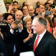 SPD siegt in Niedersachsen - Angela Merkel sieht keine Schwäche nach Wahlschlappe (Foto)