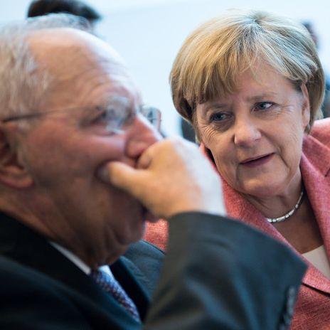 Wolfgang Schäuble übt harsche Kritik an Kanzlerin (Foto)