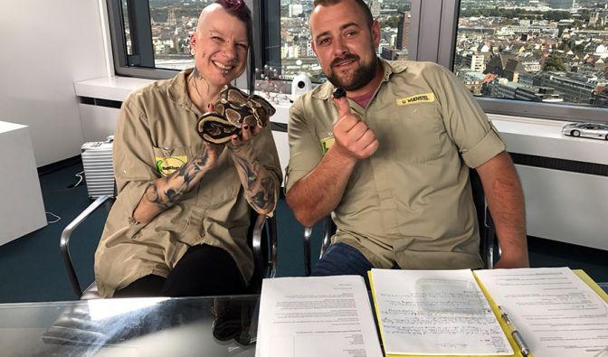 DIESE Jobs im Reptilium und bei DaWanda können Sie ergattern (Foto)