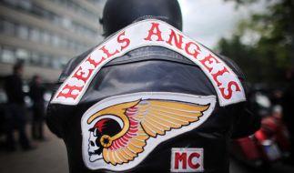 In NRW durchsuchte die PolizeiWohnungen und Geschäfte der Hells Angels. (Foto)