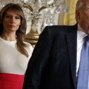 Trennung? Donald Trump hat sie durch ein Fake-Double ersetzt (Foto)