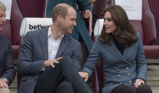Prinz William und Herzogin Kate freuen sich auf ihr drittes Kind. (Foto)