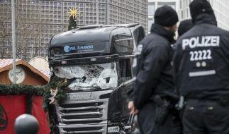 Der Tunesier Amri war am 19. Dezember 2016 mit dem zuvor gekaperten Lastwagen in den Weihnachtsmarkt an der Berliner Gedächtniskirche gerast. (Foto)