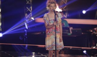 "Natia Todua singt in den zweiten Blind Auditions bei ""The Voice of Germany"" einen Song von Nina Simone. (Foto)"