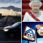 Rückruf bei Aldi // Todessturz von A2-Brücke // Queen vor Rücktritt (Foto)