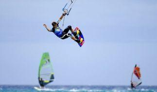 Alexander Ferch verunglückte beim Kitesurfen in Spanien (Symbolbild). (Foto)