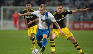 Der BVB siegte in Magdeburg ungefährdet mit 5:0. (Foto)