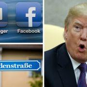"""Datenklau bei Facebook // """"Kopfgeld"""" auf Trump ausgesetzt // ARD-Kultserie vor Absetzung (Foto)"""