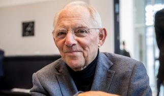 CDU-Politiker Wolfgang Schäuble ist der neue Bundestagspräsident. (Foto)