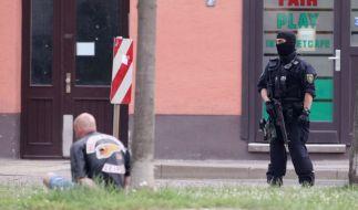 Bei einer Schießerei in Leipzig wurde ein 27-Jähriger getötet. Mehrere Hells Angels stehen vor Gericht. (Foto)