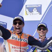 Dovizioso vertagt mit Sieg in Malaysia Titelentscheidung (Foto)