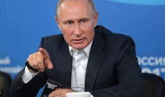 Der russische Präsident gab persönlich den Befehl zum Abschuss der Raketen. (Foto)