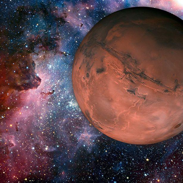 """Angebliches """"Alien-Mutterschiff"""" auf dem Mars entdeckt (Foto)"""
