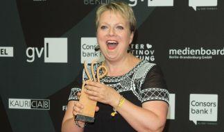 """Schauspielerin Gabriela Maria Schmeide erhielt 2016 den Deutschen Schauspielerpreis in der Kategorie """"Beste Nebenrolle"""". (Foto)"""