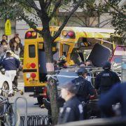 Mindestens 8 Tote und viele Verletzte nach Amokfahrt in Manhattan (Foto)