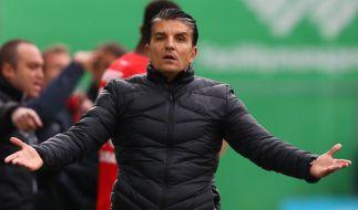 Im Spiel gegen die SpVgg Greuther Fürth zeigte sich Sandhausens Trainer Kenan Kocak noch ratlos - jetzt muss sein Team am 13. Spieltag der 2. Bundesliga gegen MSV Duisburg ran. (Foto)