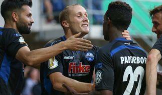 Christopher Antwi-Adjej steht am 15. Spieltag der 3. Liga mit dem SC Paderborn gegen den VfL Osnabrück auf dem Platz. (Foto)