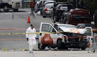 Beim Anschlag in New York starben acht Menschen, elf Personen wurden verletzt. (Foto)
