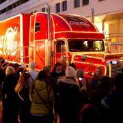 Stadt will Coca-Cola-Weihnachtstruck nicht - Unternehmen sieht rot! (Foto)