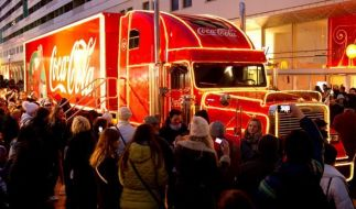 Liverpool wollte die Durchfahrt des Coca-Cola-Weihnachtstrucks verbieten. Das Unternehmen sieht das ganz und gar nicht ein. (Foto)
