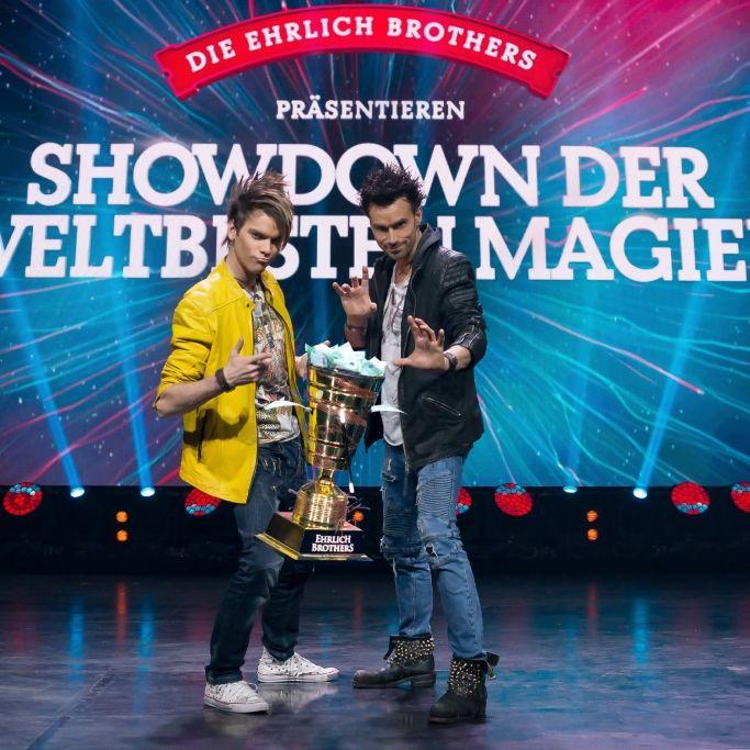 Chris und Andreas Ehrlich baten zum Showdown der weltbesten Magier (Foto)