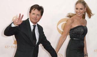 Mit seiner Ehefrau Tracy Pollan ist Hollywoodstar Michael J. Fox seit 1988 verheiratet. (Foto)