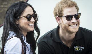 Meghan Markle und Prinz Harry sind seit einem Jahr liiert. (Foto)